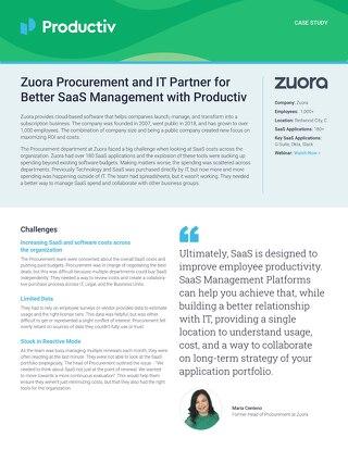 Zuora Case Study