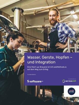 Wasser, Gerste, Hopfen – und Integration  Eine Start-up-Brauerei ist mit webMethods.io auf dem Weg zum Erfolg