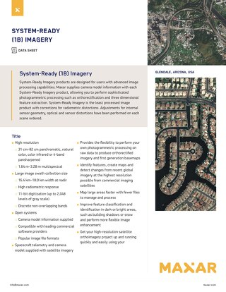 System-Ready Imagery