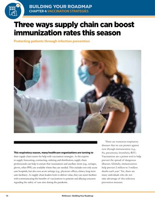 3 ways supply chain can boost immunization rates this season
