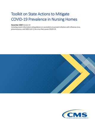 CMS toolkit on state actions to mitigate COVID-19 prevalence in nursing homes
