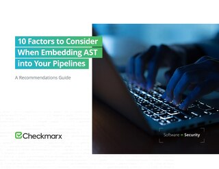 10 Factors to Consider When Embedding AST into Your Pipelines