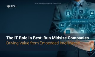 The IT Role in Best-Run Midsize Companies | IDC