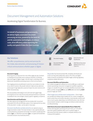 Document Management and Automation Solutions