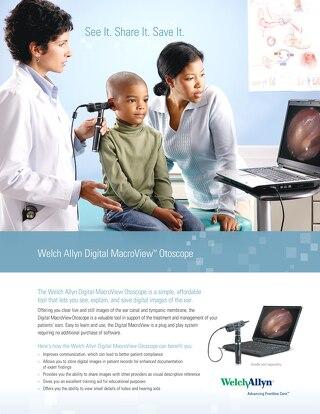 Welch Allyn® Digital MacroView™ Otoscope