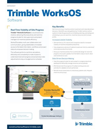 Trimble WorksOS Datasheet - English