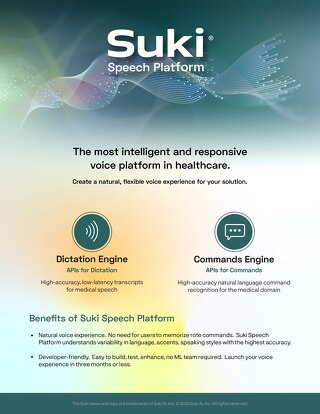 Suki Speech Service One-Pager Apr 2021