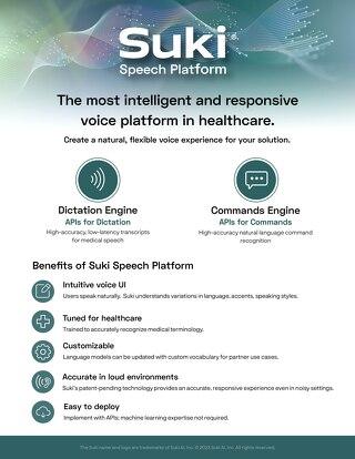 Suki Speech Service Overview