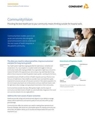 HCI Community Vision Brochure