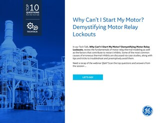 FAQ: Why Can't I Start My Motor? Demystifying Motor Relay Lockouts