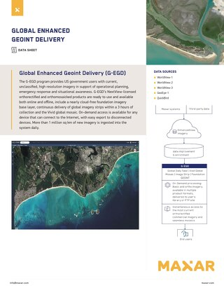Global Enhanced Geoint Delivery (G-EGD)