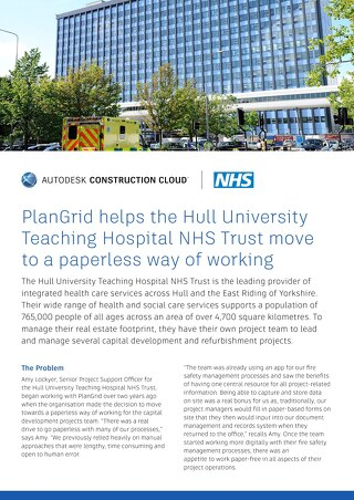 Hull University Teaching Hospital NHS Trust Case Study