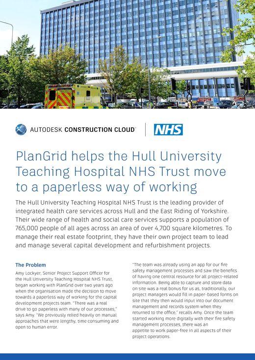 Hull University Teaching Hospital NHS Trust Case Study