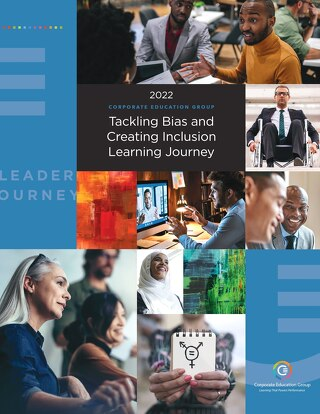CEG Tackling Bias Journey 2021