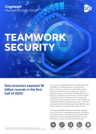 Cognizant MBG GO Teamwork Security 2021 Flyer