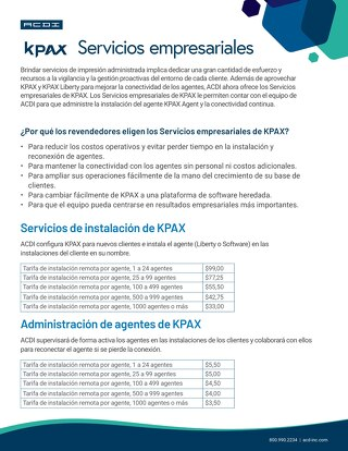 KPAX Business Services Esp