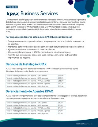 KPAX Business Services Brazil