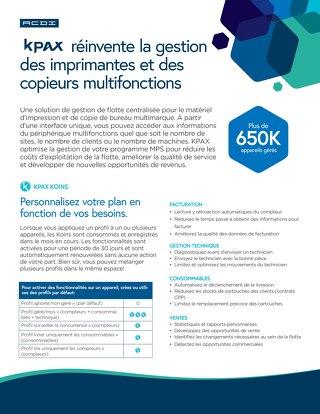 KPAX Overview en Français
