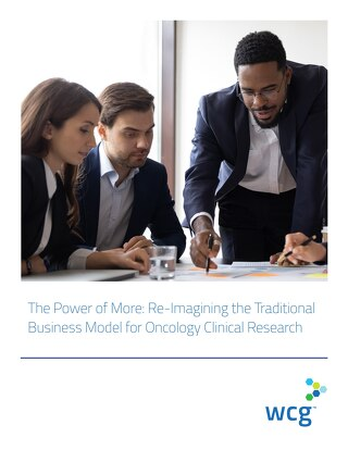 Whitepaper - The Power of More Re-Imagining the Traditional Business Model for Oncology Clinical Research