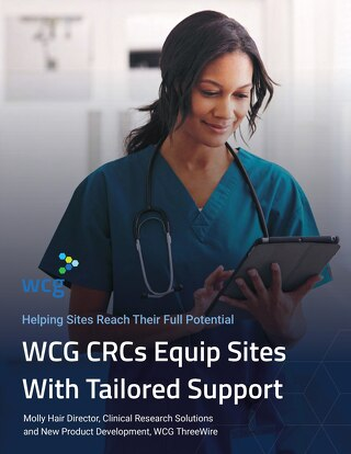 WCG CRCs Equip Sites With Tailored Support