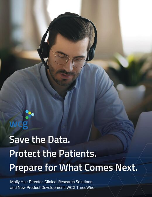 Save the Data. Protect the Patients. Prepare for What Comes Next.