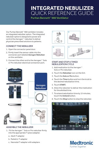 Quick Reference Guide: Puritan™ Bennett Integrated Nebulizer