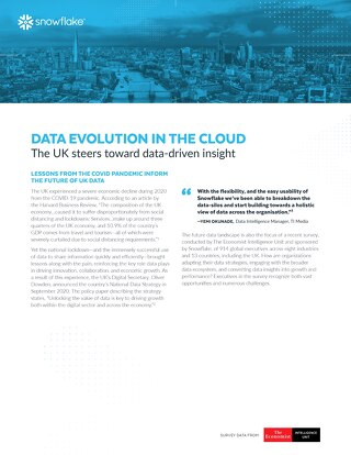 Data's Evolution in the Cloud: The UK Steers Toward Data-Driven Insight
