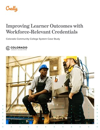 Improving Learner Outcomes with Workforce-Relevant Credentials