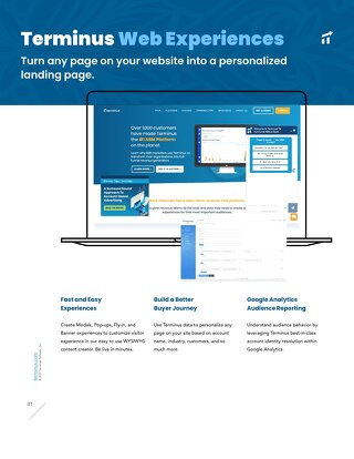 Terminus Feature Overview: Web Experiences