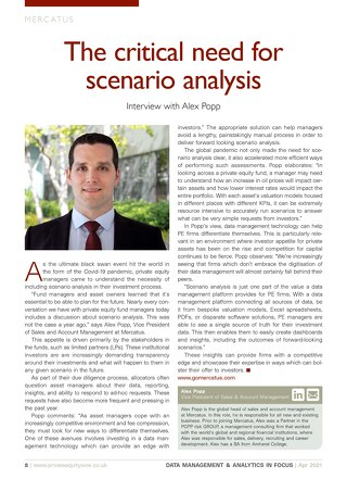 The Critical Need for Scenario Analysis | PE Wire