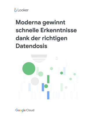 Moderna gewinnt schnelle Erkenntnisse dank der richtigen Datendosis