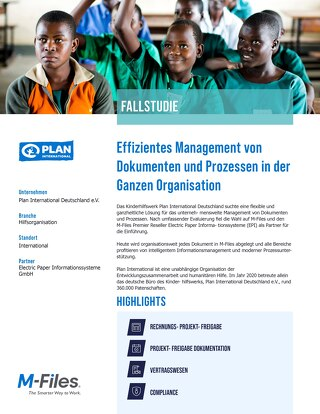 Case Study - Plan International