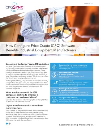 How CPQ Software Benefits Industrial Equipment Manufacturers