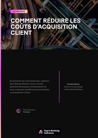 Comment réduire les coûts d'acquisition client
