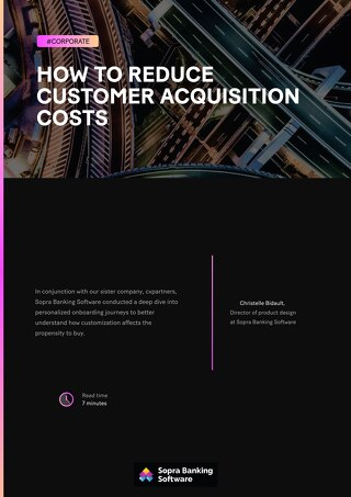 How to reduce customer acquisition costs