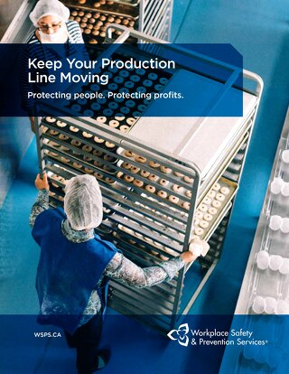 Safety Solutions for Food & Beverage Manufacturers