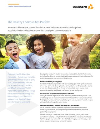 The Healthy Communities Platform