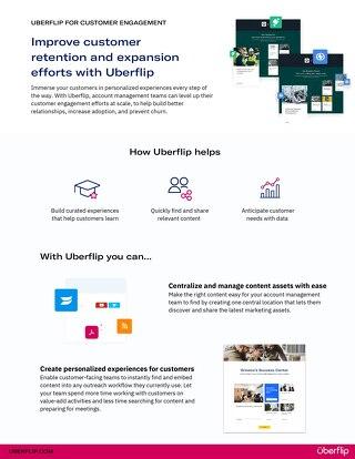 Uberflip for customer engagement