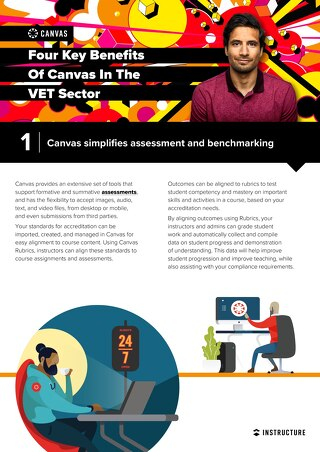 Four Key Benefits of Canvas in the VET Sector