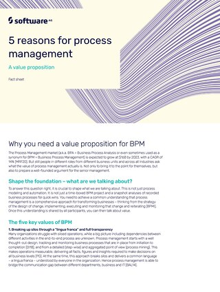 5 reasons for process management