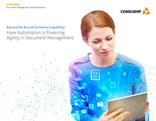 E-Book: Beyond the Bounds of Human Capability - How Automation is Powering Agility in Document Management