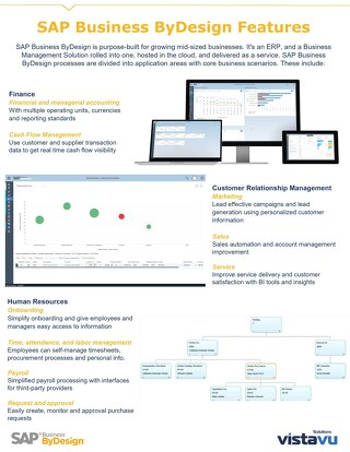 SAP Business ByDesign Features & Business Scenarios