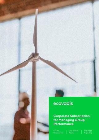 EcoVadis Corporate Subscription Brochure