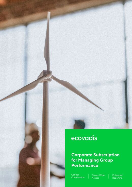 EcoVadis Corporate Subscription Brochure