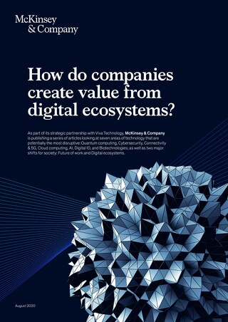 How do companies create value from digital ecosystems