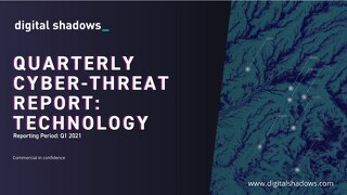 Q1 2021 Cyber Threat Report: Technology Threats