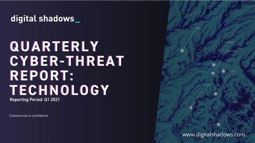 Q1 2021 Cyber Threat Report: Technology Threats