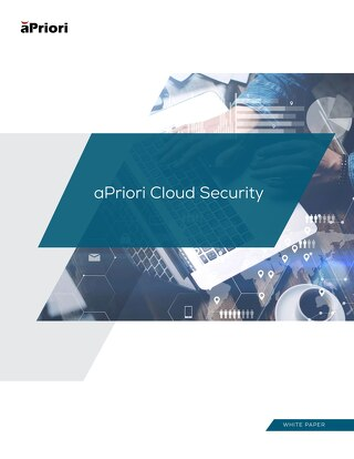 aPriori Cloud Security