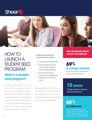 How To Create A Student Seed Marketing Program