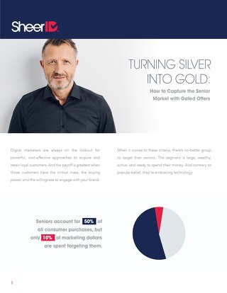 Turning Silver Into Gold How To Capture The Senior Market With Gated Offers